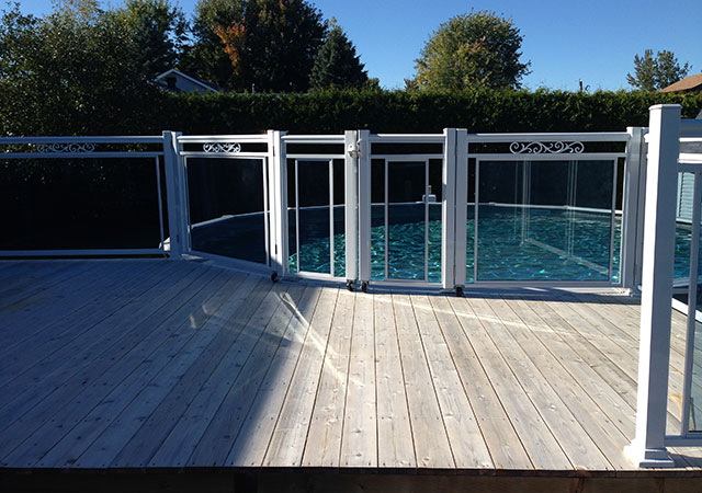 Spvaluminium for Clotures de piscine en verre